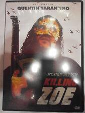 KILLING ZOE -DVD ORIGINALE -AUDIO SOLO INGLESE -NO ITALIANO -COMPRO FUMETTI SHOP
