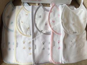 Spanish baby bib & cloth  /wrap set unisex romany Dummy