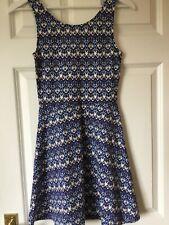 H&M Vestido Azul Talla 10 BNWOT