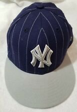 New Era NY New York Yankees 59Fifty Fitted Hat MLB Cap Size 7 1/4