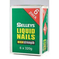 Selleys Liquid Nails High Strength Adhesive 320g X 6Pcs