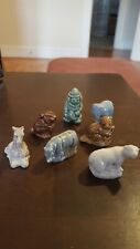 Wade Rose Tea Lot, Bear, Rhino, Giraffe, Rabbit, Clown, Circus Elephant, Beaver