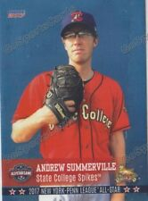 2017 New York Penn League All Star NYPL S Andrew Summerville RC Rookie Cardinals