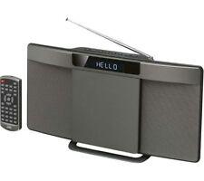 JVC RD-D227B WIRELESS FLAT PANEL HI-FI SYSTEM STEREO BLUETOOTH NFC DAB FM USB