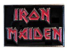 Iron Maiden British Heavy Metal Band Rock Group Metal Biker Enamel Badge 25mm