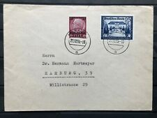 Germany, Third Reich Sc# B159 & Poland General Govt Sc# N23 On 1 Combo Cover