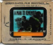A Man to Remember 1938 Vintage Glass Slide Anne Shirley Edward Ellis