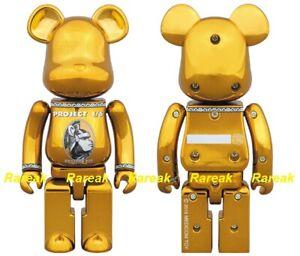 Be@rbrick 2016 Project 1/6 Centurion Golden 200% Gold Color Bearbrick 1pc