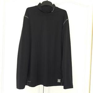 Nike Golf Tour Performance Black Dri-Fit Jumper Size Mens XL - Good Condition
