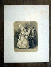 Lithographie H. LALAISSE Mariée & Communiante Nort-sur-Erdre COSTUME LOIRE-ATL.
