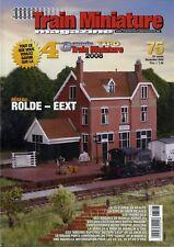 Train Miniature Magazine - N° 75