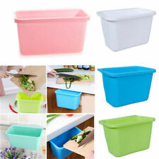 Over Kitchen Cabinet Door Hanging Trash Can Garbage Bin Can Rubbish Container UK