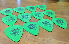 12 x Dunlop Green Tortex Standard Guitar Picks Plectrums Green 0.88 mm
