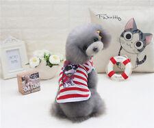 Summer Clothes Small Dog Cat Puppy Vest T-Shirt Coat Pet Apparel Costumes