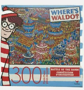 Where's Waldo Battle Of The Bands Cardinal Jigsaw Puzzle 300 Pieces NEW SEALED