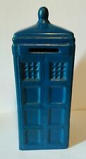 Doctor Who TARDIS Money Box, 1960's. Ceramic. This is an extremely Rare Item.