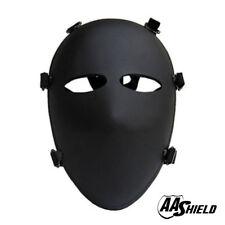 AA Shield Ballistic Visor Bulletproor Full-Face Mask Aramid Core Level IIIA 3A