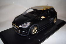 Citroen DS3 Racing 2013 matt schwarz-gold 1:18 Norev neu + OVP 181547