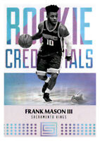 2017-18 Status Rookie Credentials Frank Mason Kings #28 NBA RC Insert PWE