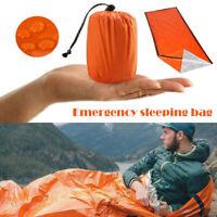 Thermal Waterproof Emergency Sleeping Bag Outdoor Survival Hiking Camping