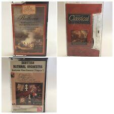 Bulk Lot of 3x Beethoven Original Cassette Tapes