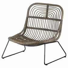 Hill Interiors The Bali Collection Full Rattan Low Pod Chair (HI3291)