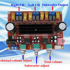 M519 TPA3116D2 50Wx2+100W 2.1 Channel Digital Subwoofer Amplifier Board 12V-24V