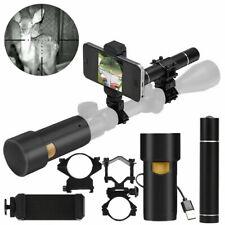 Nachtsichtgerät Infrarot Nachtsicht Zielfernrohr System DIY IR Kamera 12mm HD