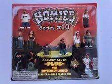 Homies Series #10 - 12 Figures - MINT IN SEALED PACKAGE !!!