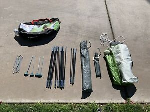 Coleman Sundome 7 Ft. X 7 Ft. Three Person Tent Rain fly & Poles Only