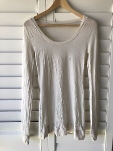 METALICUS Oatmeal/Cream Colour Merino Wool Blend  Jumper/Top One Size Body-con