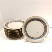 Blue Horizon Otagiri Stoneware Salad Plate 8.25in ONE or MORE Japan Mid Century