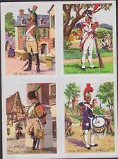 PLANCHE 4 IMAGE HISTOIRE-UNIFORME D'EPOQUE REGIMENT-14eDRAGON-GRENADIER-CHASSEUR