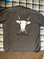Sheep on Drugs Vintage Silk Screened Work Shirt 1990s Industrial
