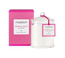 Glasshouse Fragrances Beverly Hills Pink Lemonade Candle - 350g
