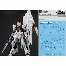 For Bandai RG 1/144 RX-93 Nu Gundam Gunpla WaterSlide Decal Stickers RG33 Model