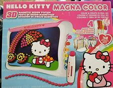 Sanrio Hello Kitty Brand Magna Color 3D Magnetic Design Station Ages 4+