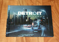Detroit Become Human The Art of / Artbook Book Playstation 4 PS4 Collectible