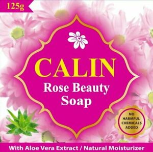 CALIN Rose Beauty Soap with Natural Moisturizer