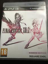 OFinal Fantasy XIII-2 PS3 2012, DVD-Box mit Code und Anleitung