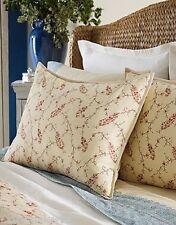 Nip-$130 Ralph Lauren Mirabeau Paisley Standard Pillow Sham 100% Cotton