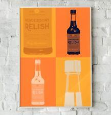 Henderson's Relish Print, Pop Art Print, Kitchen Wall Art Print