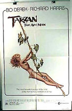 1981 TARZAN APE MAN  Orig One-Sheet Movie Poster- Bo Derek- Folded (MHPO-080)