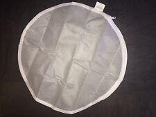 Waschbeutel für BHs, Dessous, Laundry Bag, Wäschenetz, weiß, Zipper, rund