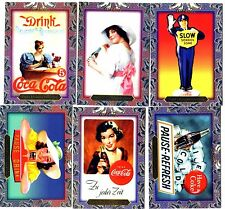 COCA COLA Lot de 6 Cartes NEUVES DIFFERENTES Lot N° CCLP 10
