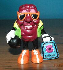 California Raisin Benny Bowler Figure 1991 Fourth Issue Toy