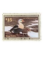 US Stamp #RW58 MNH - Pair of King Eiders. VF-EF. (I15).