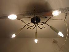 RARE 50er Rockabilly Spider Deckenlampe Lampe Sputnik Stilnovo Style  #<
