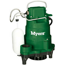 Myers MCi050 - 1/2 HP Cast Iron Sump Pump w/ Vertical Float Switch