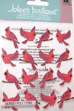 JOLEE'S BOUTIQUE CARDINAL REPEATS Birds Craft Scrapbook Sticker Embellishment